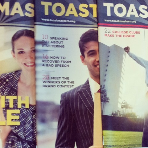 Toastmasters Lessons